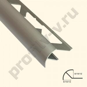 Алюминиевый RR-профиль V.V.A-LS8x8 /10x10 /12x12 угловой