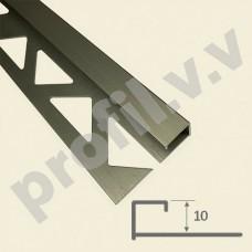 Алюминиевый профиль  V.V.A-KVZ10х10/12x12 угловой Премиум