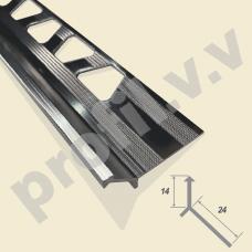 Алюминиевый угловой У-образный профиль V.V.A-MSDK10 декоративный
