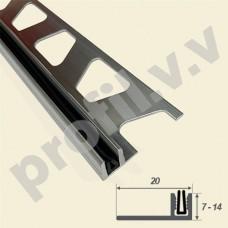 Алюминиевая основа с резиновой вставкой для Т-образного профиля V.V.A-OTR10/12/14 ECO