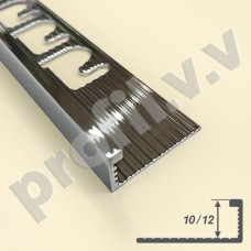 Латунный хромированный профиль V.V.A-LX-A10 ECO L-образный