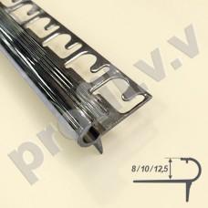 Латунный хромированный профиль для ступеней V.V.A-LX-PSP8/10/12,5 ECO