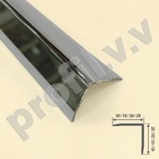 Латунный хромированный угол V.V.A-LX-UN10x10/15x15/20x20 ECO