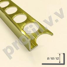 Латунный профиль Г-образный V.V.A-L-AG8/10/12 ECO