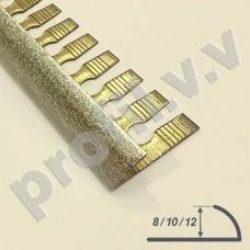 Латунный профиль закладной V.V.A-L-NG9 /V.V.A-L-NG12