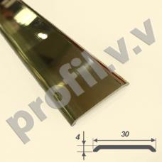 Латунный порог (стык)  V.V.A-L-R30PL