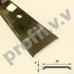 Латунный порог (стык) плоский V.V.A-L-R30PL ECO