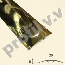 Латунный порог (стык)  V.V.A-L-R30S