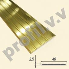 Латунный порог (стык)  V.V.A-L-R40PL