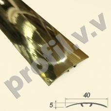 Латунный порог (стык)  V.V.A-L-R40S