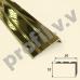 Латунный угловой порог V.V.A-L-UN18x24 ECO