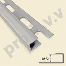 Алюминиевый профиль для окантовки керамической плитки V.V.A-ZG10/12 ECO