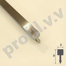 Латунный профиль разделительный V.V.A-L-LG5