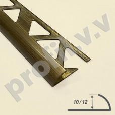 Латунный профиль закладной V.V.A-L-N9 /V.V.A-L-N12