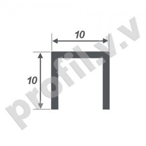 Латунный профиль П-образный V.V.A-L-P10