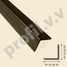 Латунный уголок V.V.A-L-UNS10х10 /15x15 /20x20 /25x25 Bark