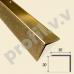 Латунный порог 3D (угол) V.V.A-L-UN30x30 для ступеней Tessuro