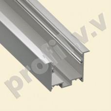 Профиль светодиодный V.V.S-PV35-4732 алюминиевый врезной