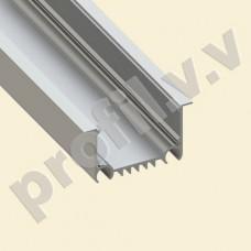 Профиль светодиодный V.V.S-PV50-6232 алюминиевый врезной