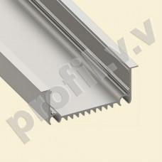 Профиль светодиодный V.V.S-PV70-8232 алюминиевый врезной