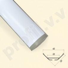 Профиль светодиодный V.V.S-PU30x30 алюминиевый угловой