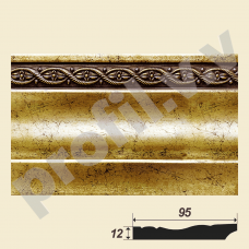 Плинтус напольный V.V.D-153-1