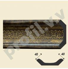 Карнизы V.V.D-167 с орнаментом 48 мм