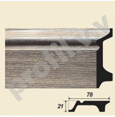 Плинтуса V.V.D-D122 высотой 78 мм