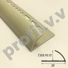 ПВХ профиль для плитки V.V.A-NPL7/8/9/10/12 цветной