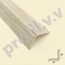 Угловой ПВХ профиль для плитки V.V.A-UNP цветной