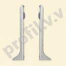 Заглушка торцевая (пара) V.V.R-PLA60-Z алюминий