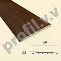 Порог алюминиевый - стык широкий  V.V.R-R80 /V.V.A-R80