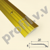 Алюминиевый порог (кант) V.V.A-R28P разноуровневый