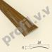 Порог (стык) узкий V.V.R-R20 /V.V.A-R20 алюминиевый