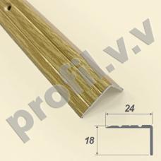 Порог алюминиевый (угол) V.V.R-UN24x18 /V.V.A-UN24x18