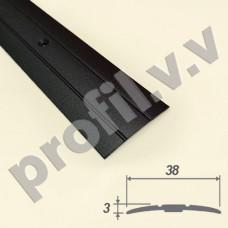 Алюминиевый порог (стык) V.V.A-R38 для пола