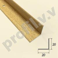 Порог (угол) алюминиевый внутренний V.V.R-UV20x20