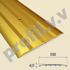 Порог алюминиевый - стык широкий  V.V.R-R100 /V.V.А-R100