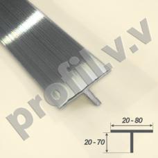 Тавр алюминиевый V.V.R-TM профиль Т-образный