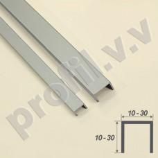 Швеллер алюминиевый (П-образный профиль) V.V.R-P