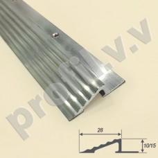 Профиль V.V.R-OBK10 для грязезащитных ковриков