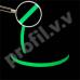 Противоскользящая лента V.V.A-NJD50 со светящейся полосой