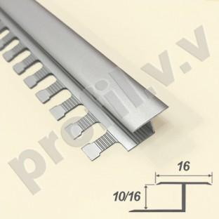 Алюминиевый профиль V.V.A-DG10/16 закладной