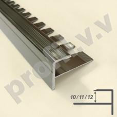 Алюминиевый F-образный профиль V.V.A-FG10/11/12 для ступеней ECO