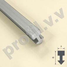 Алюминиевый декоративный профиль разделительный V.V.A-LG5