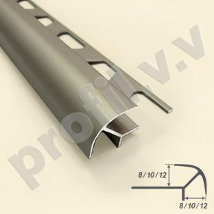 Алюминиевый профиль V.V.A-LS8x8 /10x10 /12x12 угловой для плитки
