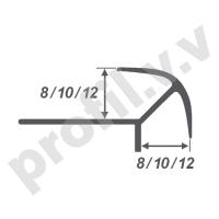 Алюминиевый профиль V.V.A-LS8x8 /10x10 /12x12 угловой