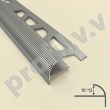 Алюминиевый профиль V.V.A-NN10,5 /12 закладной для ступеней ECO