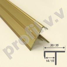 Алюминиевый профиль V.V.A-PF14x30 / V.V.A-PF15x35 для ступеней ECO