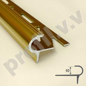 Алюминиевый профиль V.V.A-PSP10 для ступеней